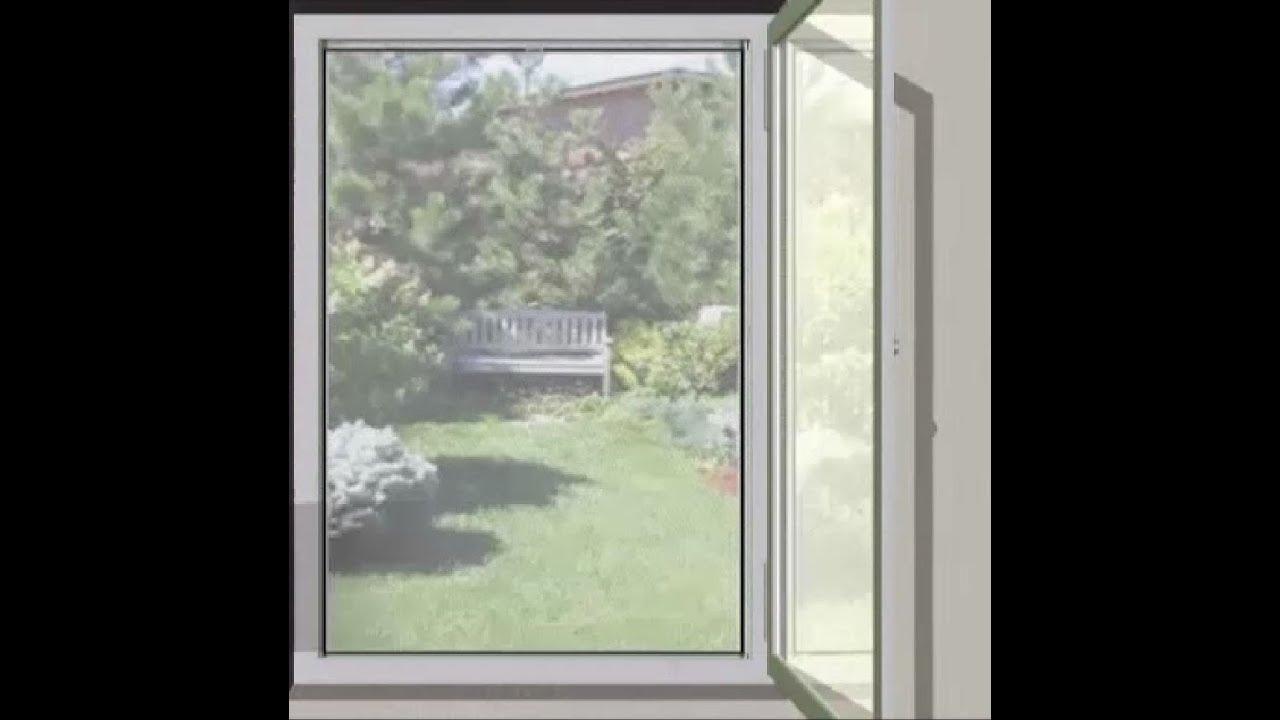 Video fliegengitter balkontür aldi Anschluss Balkontür