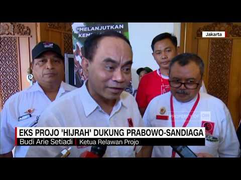 Eks Projo 'Hijrah' Dukung Prabowo-Sandiaga