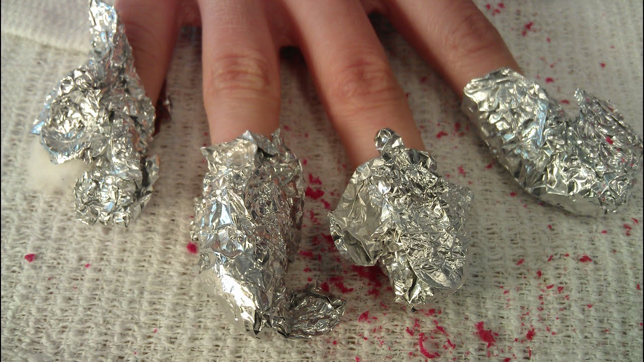 HOW TO REMOVE GEL POLISH ON NATURAL NAILS - YouTube