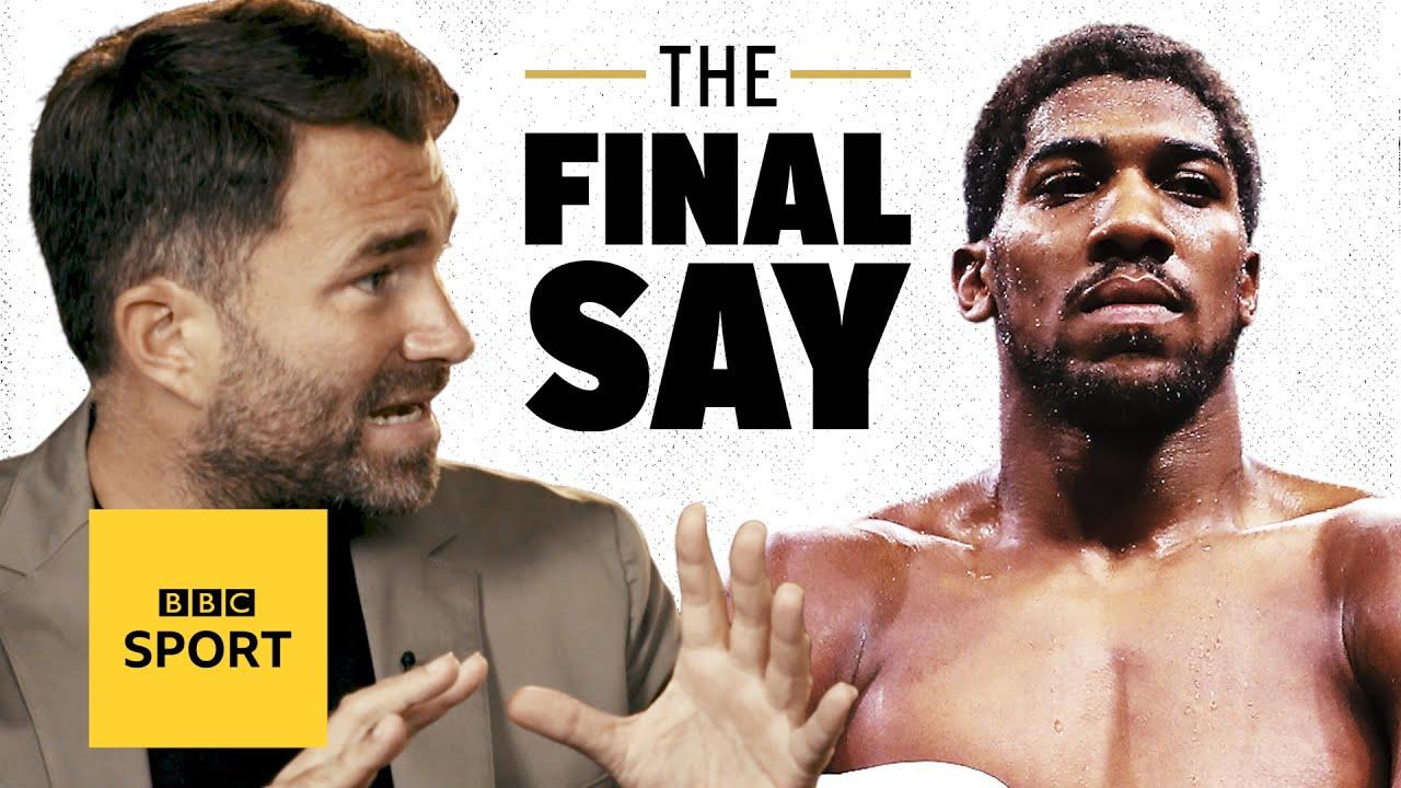 Eddie Hearn on Joshua v Usyk & Tyson Fury | The Final Say Debate