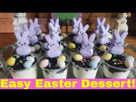 EASTER Dessert Tag -Oreo/ White Chocolate Cheesecake Dream Cups