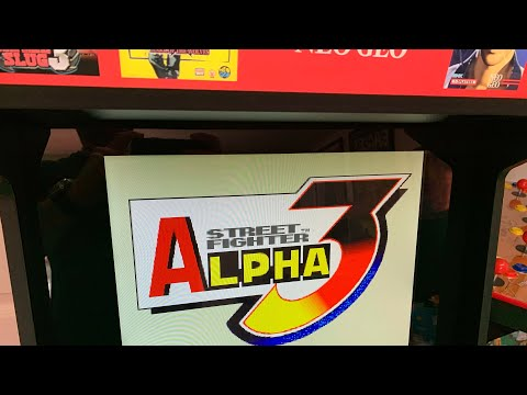 ARCADE1UP CABINETS WE NEED!  STREET FIGHTER ALPHA 3 from The 3rd Floor Arcade with Jason
