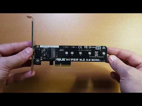 Unbox Técnico ASUS HYPER M.2 X4 MINI PCIe EXPANSION CARD