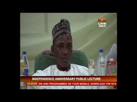 Nigeria's Independence Anniversary Public Lecture