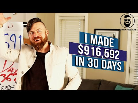 How I Made $916,592 Online In 30 Days | My 4 Income Sources
