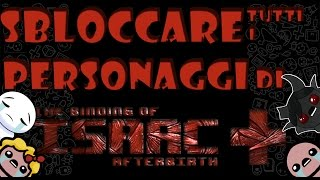 Come sbloccare tutti i personaggi di The Binding of Isaac: Afterbirth+
