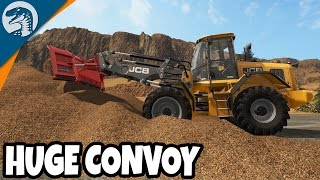 BIG LOGGING EQUIPMENT | Logging Map | Farming Simulator 17 Multiplayer Gameplay