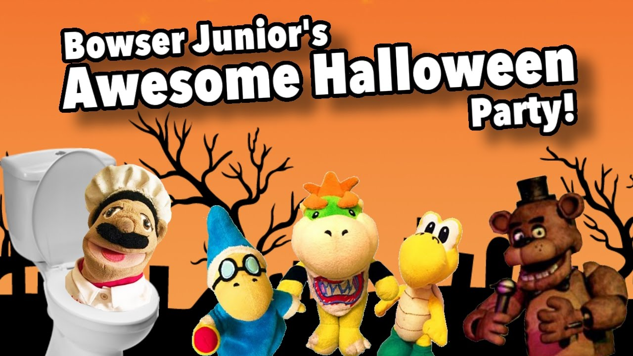 sml ytp: bowser junior's awesome halloween party! - youtube