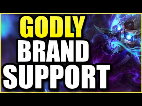 (LEGIT 1v9!) THIS NEW BRAND SUPPORT BUILD IS ABSOLUTELY *GODLY*!  BEST BRAND SUPPORT SEASON 10