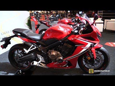 2019 Honda CBR 650R - Walkaround - 2019 Montreal Motorcycle Show