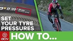 Bike Tyre Pressure Explained | Road Bike Maintenance