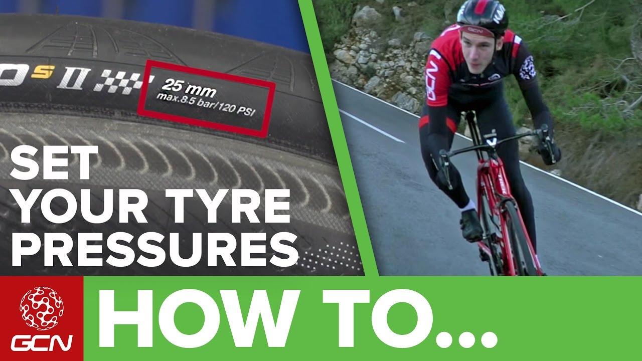 Bike Tyre Pressure Explained Road Bike Maintenance Youtube