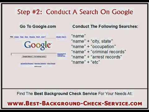 Online dating sites background checks