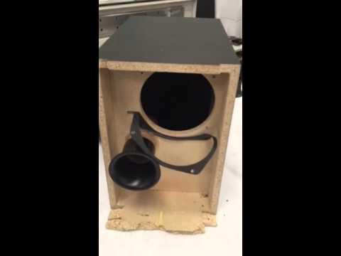 Bose Acoustimass 3-2-1 series 1 destruction / modification - YouTube