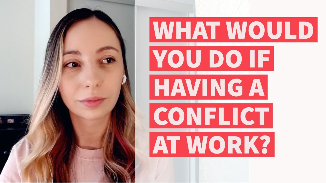 Download QA Interview: What would you do if you have a personal conflict at work?