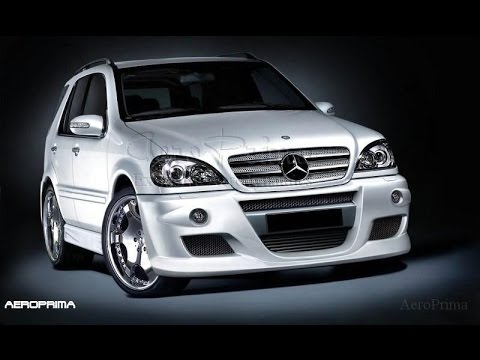mercedes ml w163 tuning body kit youtube. Black Bedroom Furniture Sets. Home Design Ideas