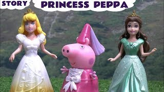 Peppa Pig Princess Peppa Family Friendly Story Accident with Magic Rescue in this Full Episode