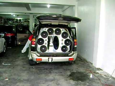 Sonido de bocina de coche vintage