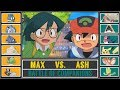 Ash vs. Max (Pokémon Sun/Moon) - Battle of Comanions