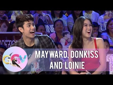"""GGV: Kisses Says """"I Love You"""" To Donny"""