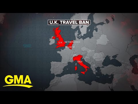 Countries Ban Travel From UK After New Variant Of COVID-19 Detected