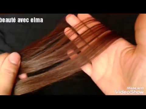 صبغ الشعر بني شوكولا ذهبي للشعر الغامق و الفاتح لون رووووعة