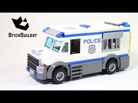 Lego City 60043 Prisoner Transporter Lego Speed Build Youtube