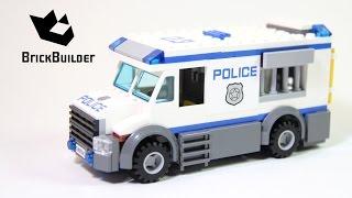 Kijk Lego City 60043 Gevangenen transport filmpje
