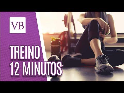 Treino HIIT de 12 minutos - Você Bonita (11/09/18)