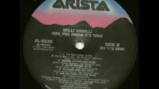 Milli Vanilli-Girl you know it