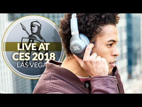 f06464862aa CES 2018: Google Assistant comes to JBL Everest headphone range in latest  refresh - YouTube