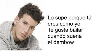 Suena el Dembow -Joey Montana y Sebastián Yatra -Lyrics ORI...