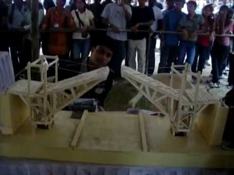 how to make a hydraulic bridge with syringes