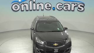 C97914NC Used 2014 Chevrolet Traverse LT Sport Utility Gray Test Drive, Review, For Sale