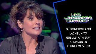 Faustine Bollaert lâche un