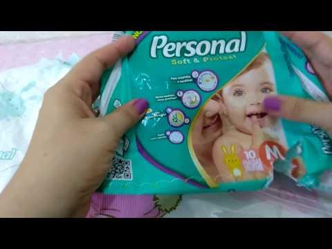 Resenha Fralda Personal Soft E Protect