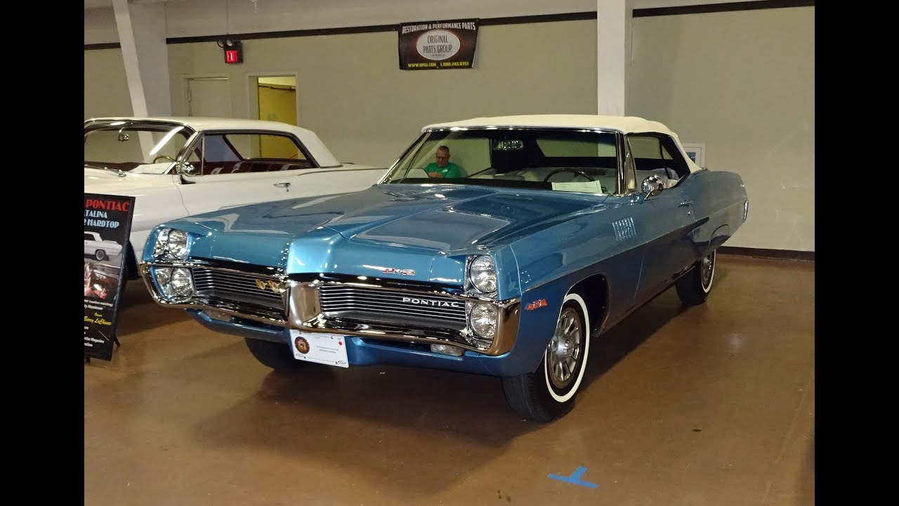1967 Pontiac 2 2 Convertible In Tyrol Blue With 428 Engine