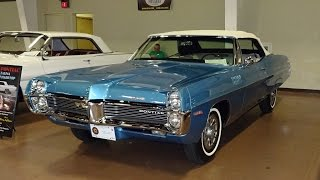 1967 Pontiac 2+2 Convertible in Tyrol Blue with 428 Engine Start Up My Car Story with Lou Costabile