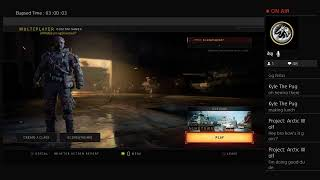 Call of Duty Blackops 4 Multiplayer Road to Prestige Master With Shadow
