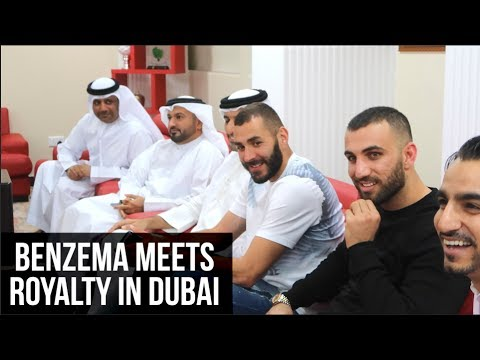 KARIM BENZEMA VISITS ROYAL FAMILY IN DUBAI!!