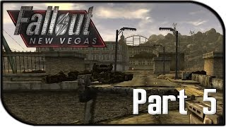 """Fallout: New Vegas Gameplay Part 5 - """"Primm + Landmines..."""" (Fallout 4 Hype Let's Play!)"""