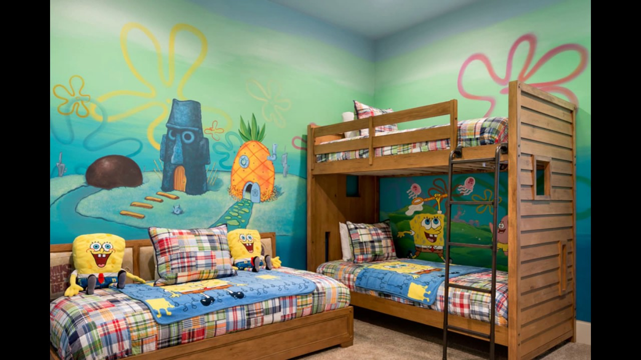 Spongebob Bedroom. De Furniture