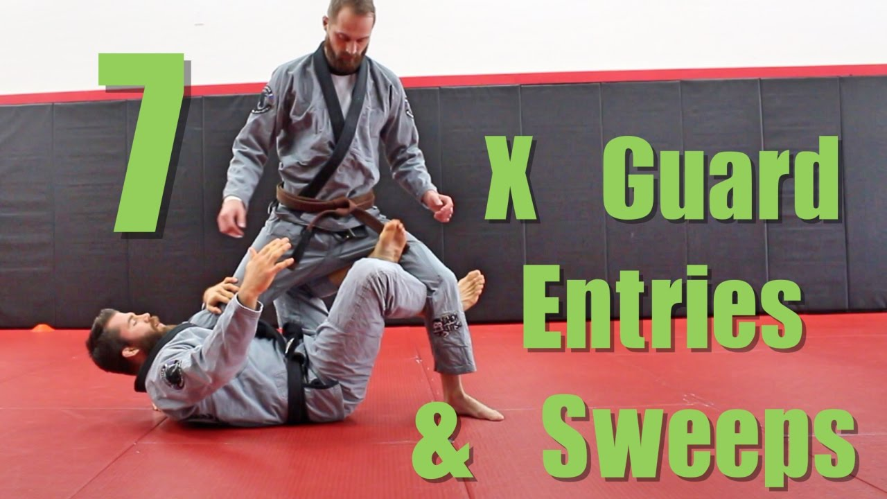 7 BJJ X Guard Drills ( Entries and Sweeps )