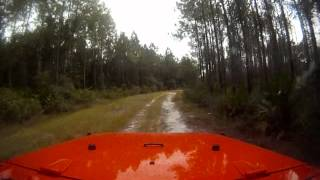 Jeeping on a dirtmound