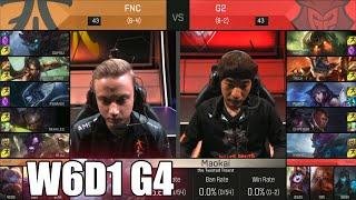 fnatic vs g2 esports   week 6 day 1 s6 eu lcs spring 2016   fnc vs g2 g2 w6d1