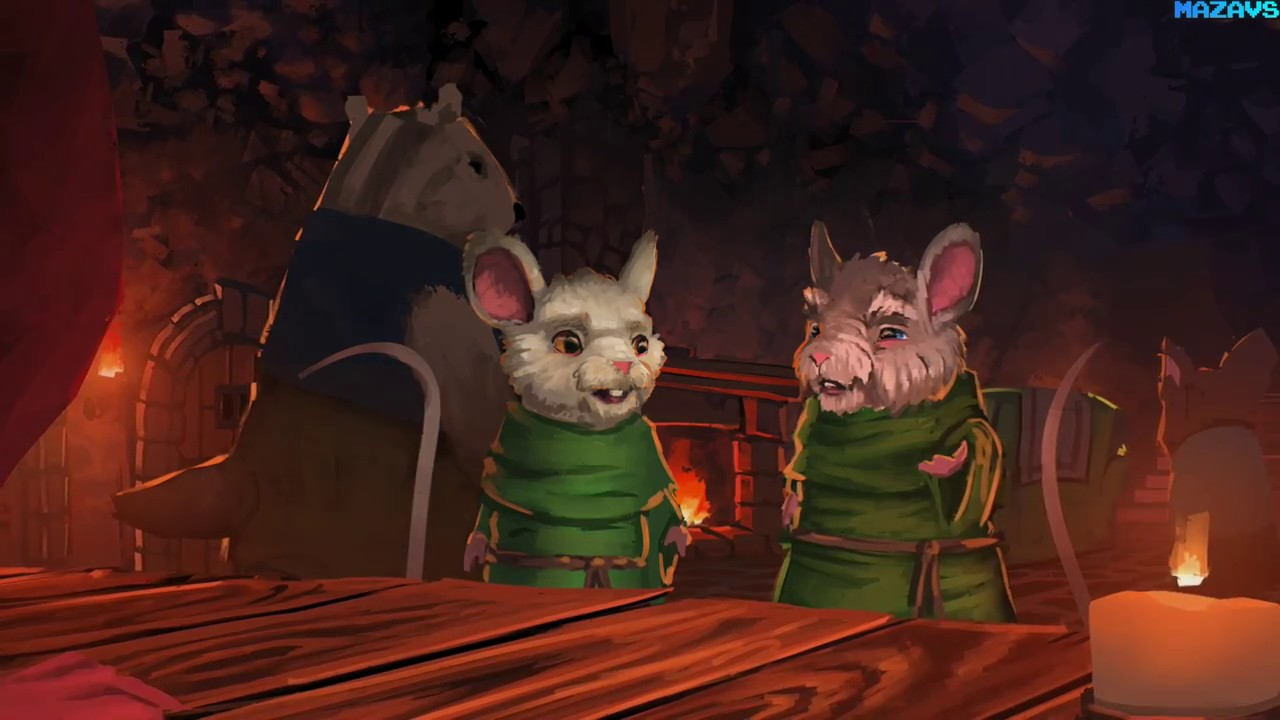 the lost legends of redwall the scout gameplay