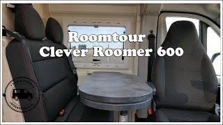 Roomtour Clever Roomer 600 - Kastenwagen von innen