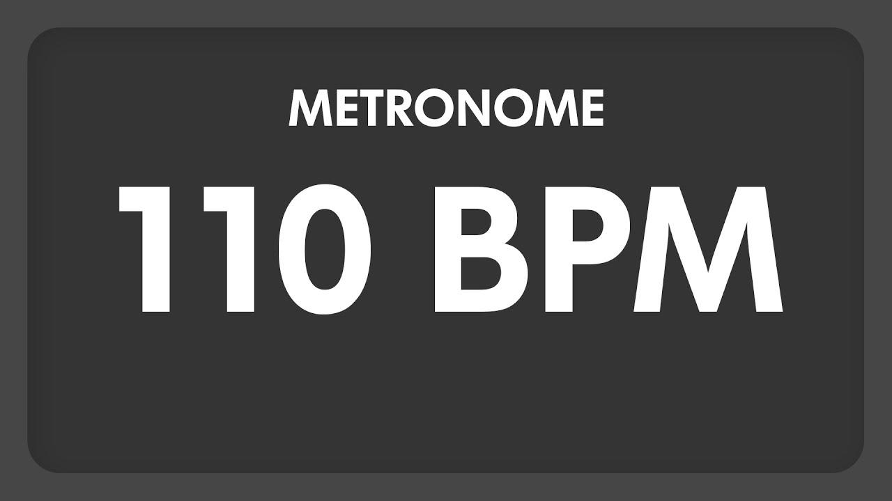 Download 110 BPM - Metronome