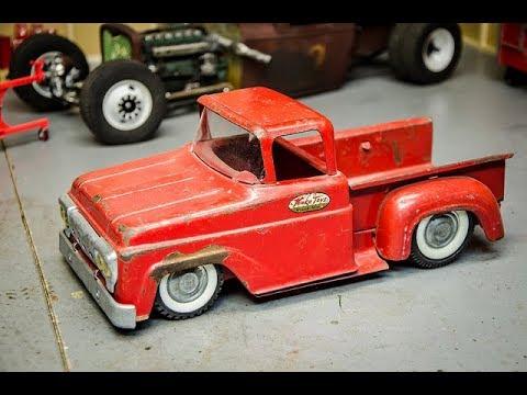 Past Build Kustom 1960 Tonka Shortbed Slammed Truck
