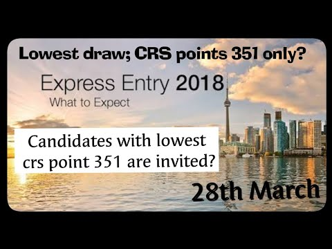 Express Entry Canada 2018, Ontario invited candidates with mini CRS scores  351 ||by IMMIGRATION news